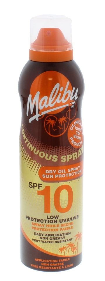 Malibu SPF10 Cont Dry Spray  175ml