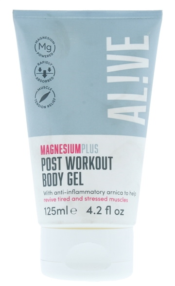 Alive Magnesium 125ml Body Gel Plus Post Workout