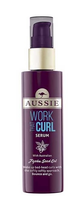 Aussie 75ml Serum Work That Curl