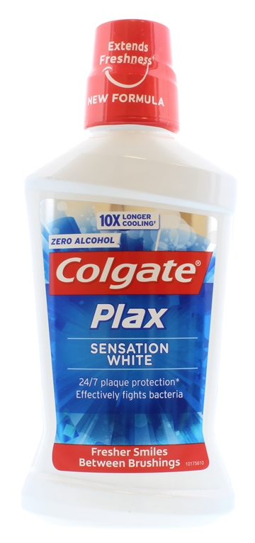 Colgate Plax 500ml Mouthwash White