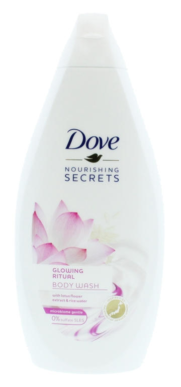 DOVE SHOWER GEL GLOWING RITUAL 500ML