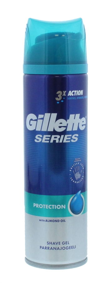Gillette Series 200ml Shower Gel Protect