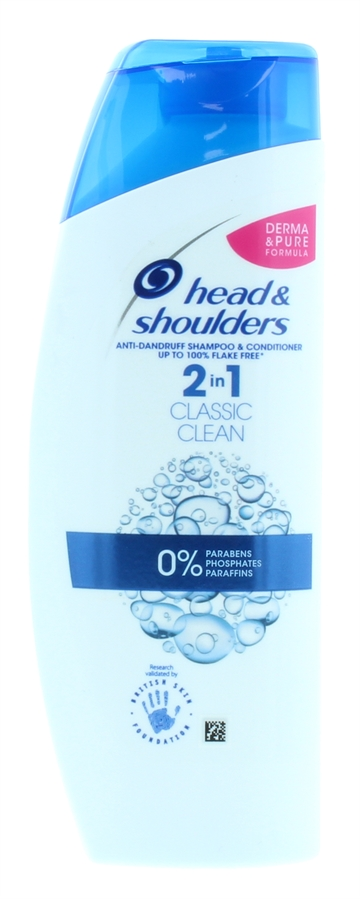 Head&Shoulders 200ml Shampoo 2in1 Classic