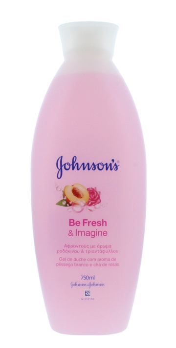 JOHNSON'S FRESH & IMAGINE SHOWER GEL 750ML