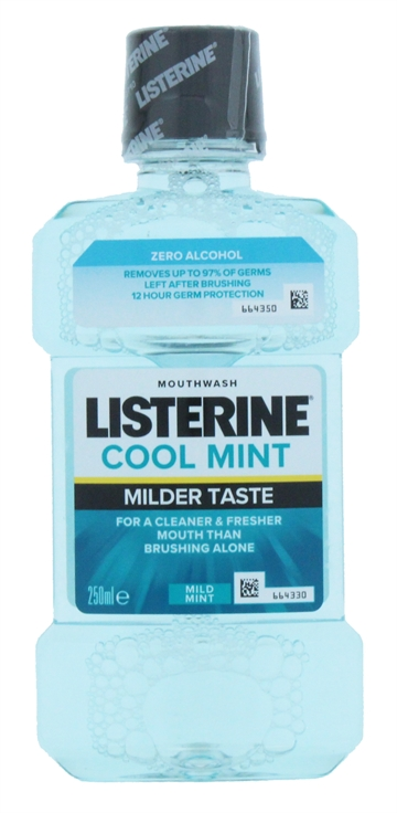 Listerine 250ml Mouthwash Zero