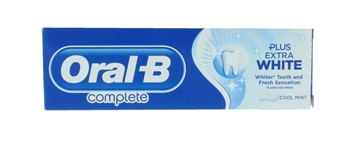 Oral B 75ml Toothpaste Complete White