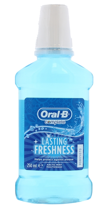 Oral B 250ml Mouthwash Arctic Mint