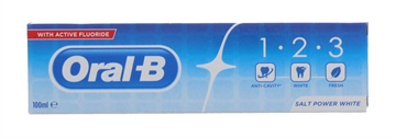 Oral B 100ml Toothpaste Salt Power White