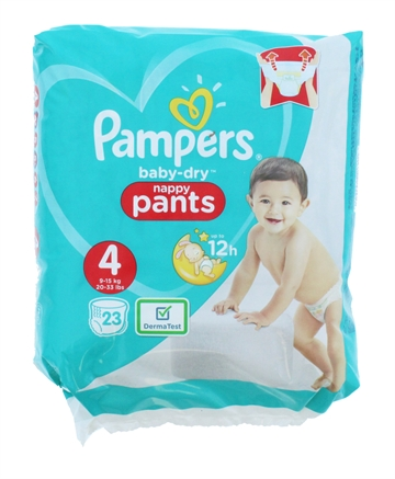 Pampers Baby Dry Nappy Pants Size 4 23'