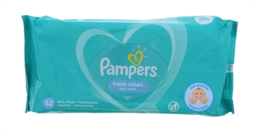 Pampers Baby Wipes Fresh Clean 52S