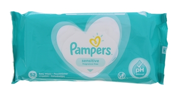Pampers Baby Wipes Frag Free 52S