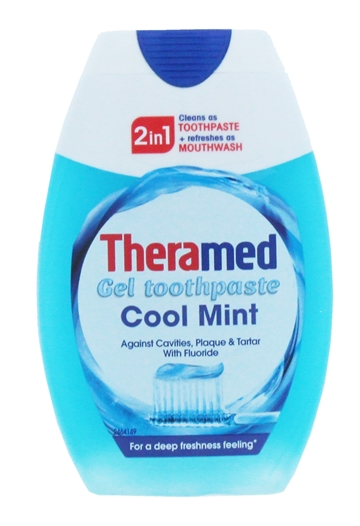 Theramed 75ml 2In1 Toothpaste & Mouthwash Cool Mint