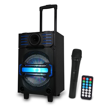 Party Trolley Bluetooth Speaker med LED lys 40W