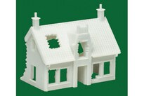 AIRFIX EUROPEAN RUINED COTTAGE - (1:76 SCALE) 10/10