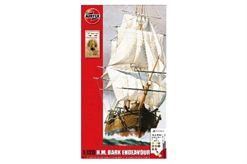 AIRFIX Endeavour Bark and Captain Cook 250th anniversary