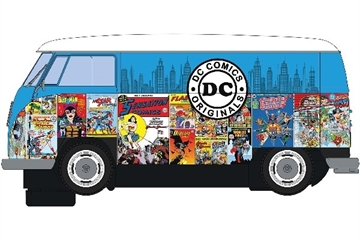 Scalextric Vw Panel Van T1B - Dc Comics