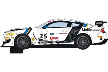 Scalextric Ford Mustang Gt4 - British Gt 2019 - Multimatic