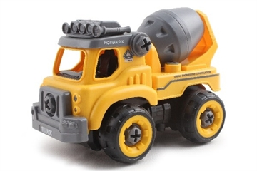Contruck Cement Mixer R/C DIY With Sound