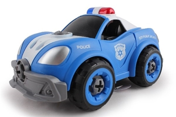 Contruck Police Car R/C DIY With Sound