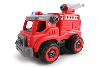 Contruck Fire Engine R/C Diy With Sound