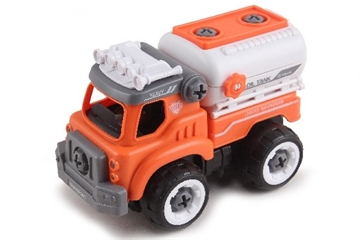 Contruck Tank Truck  R/C Diy With Sound