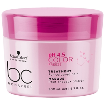 Schwarzkopf BC Bonacure pH 4.5 Color Freeze Treatment hår maske Kvinder 200 ml