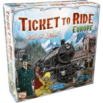 Ticket to Ride Europa (Dansk)