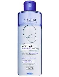 L'Oreal Paris Skin Expert Eau micellaire bi-phases - 400 ml - Nettoyant visage micellar rensevand