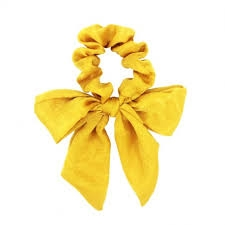 Everneed Trille - bow scrunchie sunkissed
