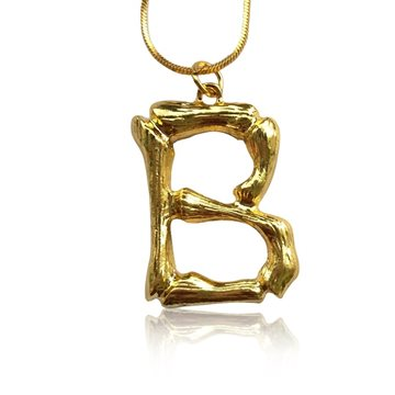 Everneed Bamboo Letters B - Guld