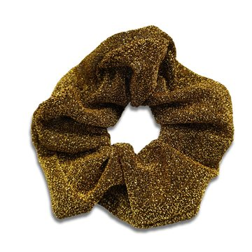 Everneed JoJo Shimmer Scrunchie - golden