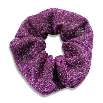 Everneed JoJo Shimmer Scrunchie - purple