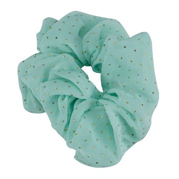 Everneed Scrunchie - mint guld dots