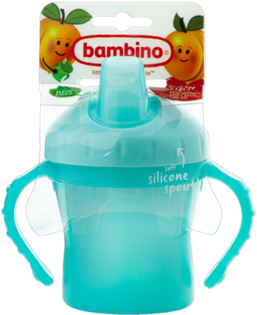 Bambino Easy sip! CUP mint drikkekop med sut