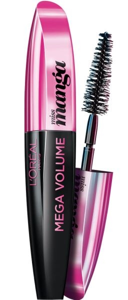 L'Oreal Paris MASCARA MEGA VOLUME MISS MANGA BLACK