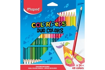 Magni Maped Color'Peps, Duo, 24/48 farver
