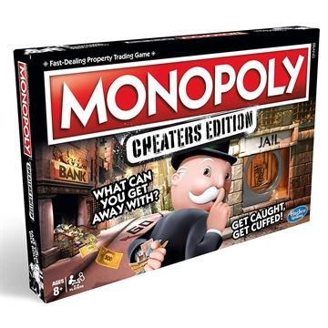 Monopoly Cheaters Ed. DK