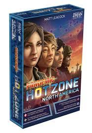 Pandemic Hot Zone North America  - Travel Size