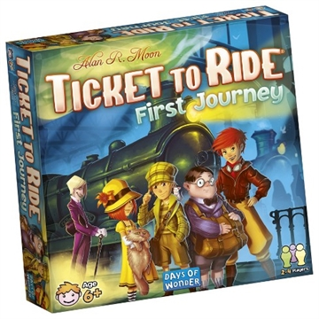 Ticket to ride first Journey (Dansk)