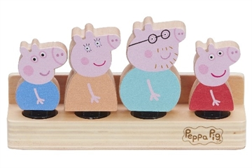 Peppa's Wood Play Family Figure Pack