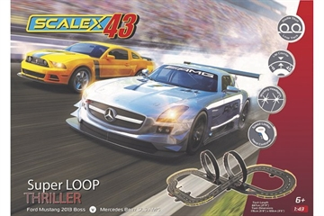 Scalextric Scalex43 - Super Loop Thriller Set