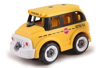 Contruck School Bus R/C Diy With Sound