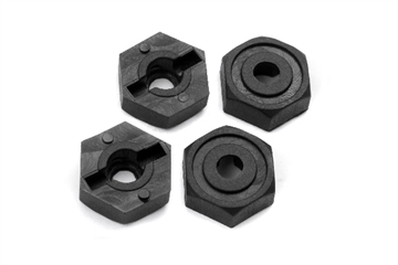 12mm Wheel Hex (4pcs)