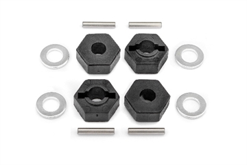 12mm Wheel Hex Hub Set (4pcs)