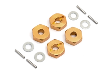 14mm Wheel Hex Hub Set (4pcs)