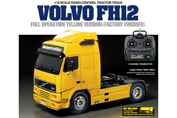 1:14 R/C Full Option - Volvo FH12 Yellow