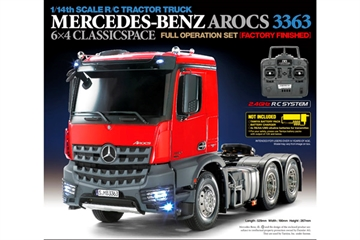 1:14 R/C Full Option - Mercedes-Benz Arocs 3363 6x