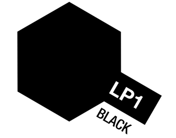 Tamiya Lacquer Paint LP-1 Black