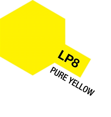 Tamiya Lacquer Paint LP-8 Pure Yellow