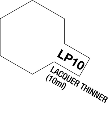 Tamiya Lacquer Paint LP-10 Lacquer Thinner (10ml)